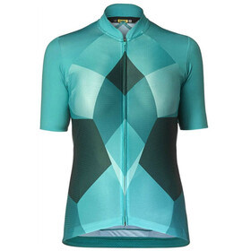 Mavic Sequence Pro Bike Jersey Shortsleeve Women turquoise/teal